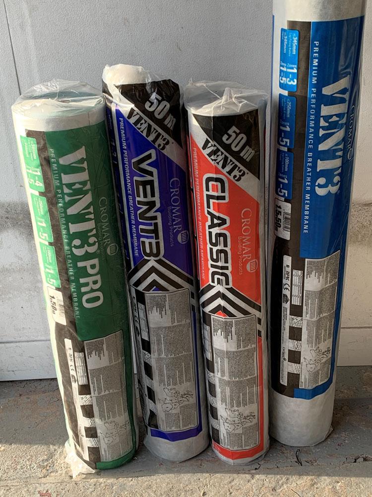 Breathable Felt Supplies Amp Roof Tile Underlays St Helens